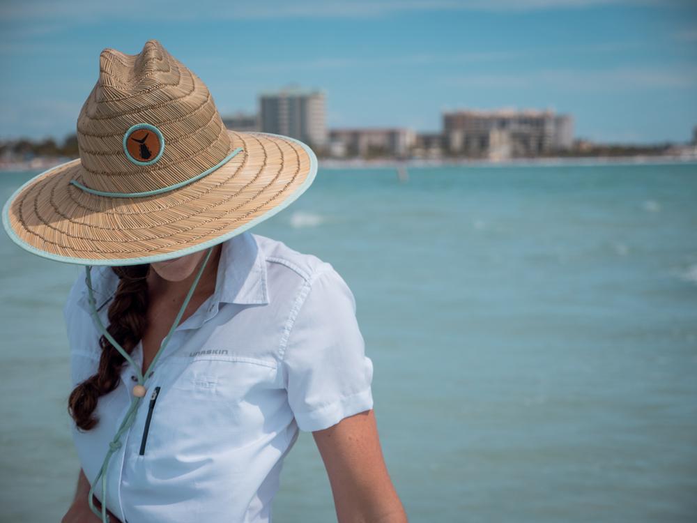 Tunaskin Women's Bermuda Straw Hat