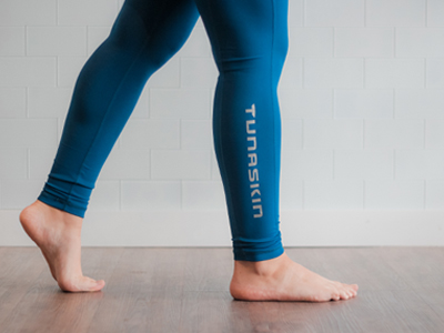 Women's Leggings Blue Detail