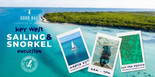 Key West Sailing and Snorkel Event Details