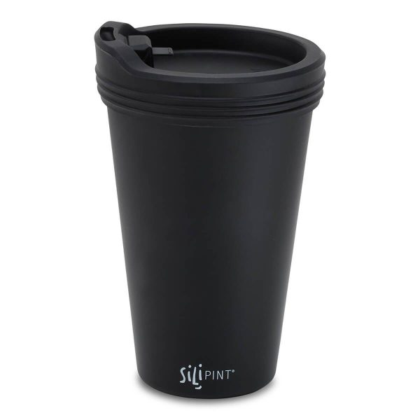 SILI-LID-01-BK-01-OS with cup